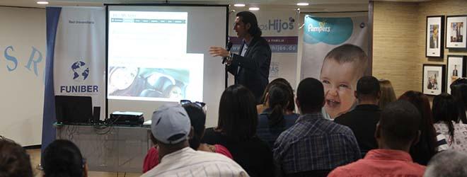 FUNIBER participa en la charla de Santiago Tejedor en República Dominicana