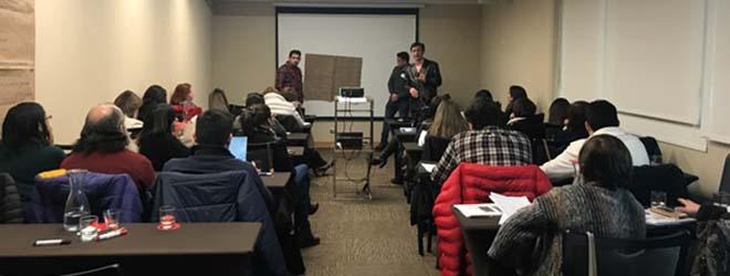 FUNIBER organizó capacitación especializada a funcionarios del SENAME en Chile