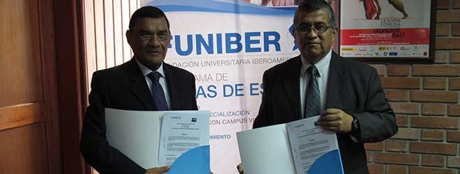 FUNIBER firma convenio de colaboración con Floc Group