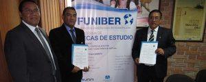 FUNIBER firma convenio con la UNDAC en Perú