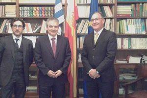 FUNIBER visita la Cámara Oficial Española de Comercio, Industria y Navegación de Uruguay