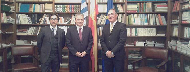FUNIBER vista la Cámara Oficial Española de Comercio, Industria y Navegación de Uruguay