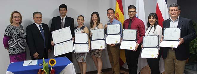 FUNIBER celebra acto de entrega de títulos en Costa Rica