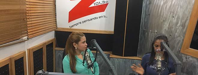 Directora de FUNIBER en República Dominicana entrevistada por Radio Z101