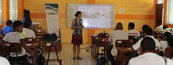 Gran acogida del programa de becas de FUNIBER en Managua