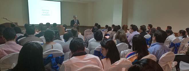 Éxito de asistencia en la Convocatoria de Becas FUNIBER 2017 en Honduras