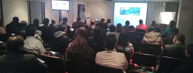 Gran éxito de participación en ciclo de conferencias del Dr. Pantoja en Colombia