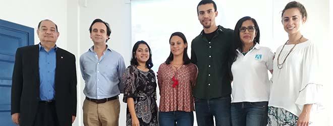 Alumnos panameños becados por FUNIBER inician estudios en UNEATLANTICO