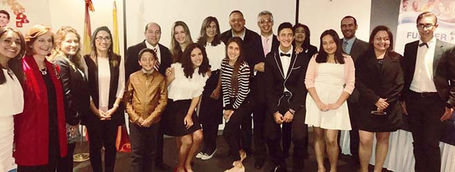 Alumnos colombianos becados por FUNIBER iniciarán estudios en la Universidad Europea del Atlántico