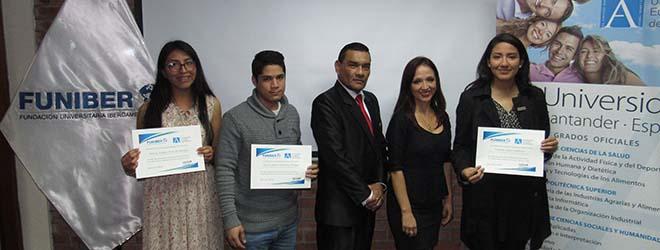 FUNIBER Perú despide a los nuevos estudiantes de UNEATLANTICO