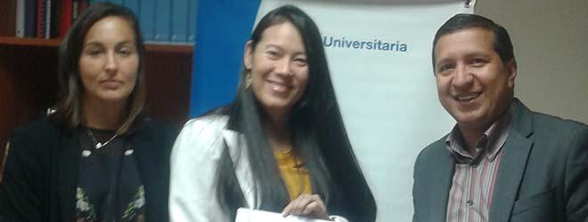 FUNIBER firma convenio con el hospital Honduras Medical Center