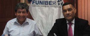 FUNIBER firma convenio de colaboración con la Municipalidad de Cabana en Perú