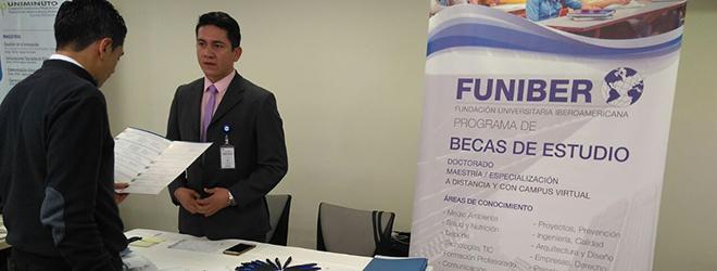 FUNIBER Colombia participó en la III Feria de las Universidades organizada por Bancamía