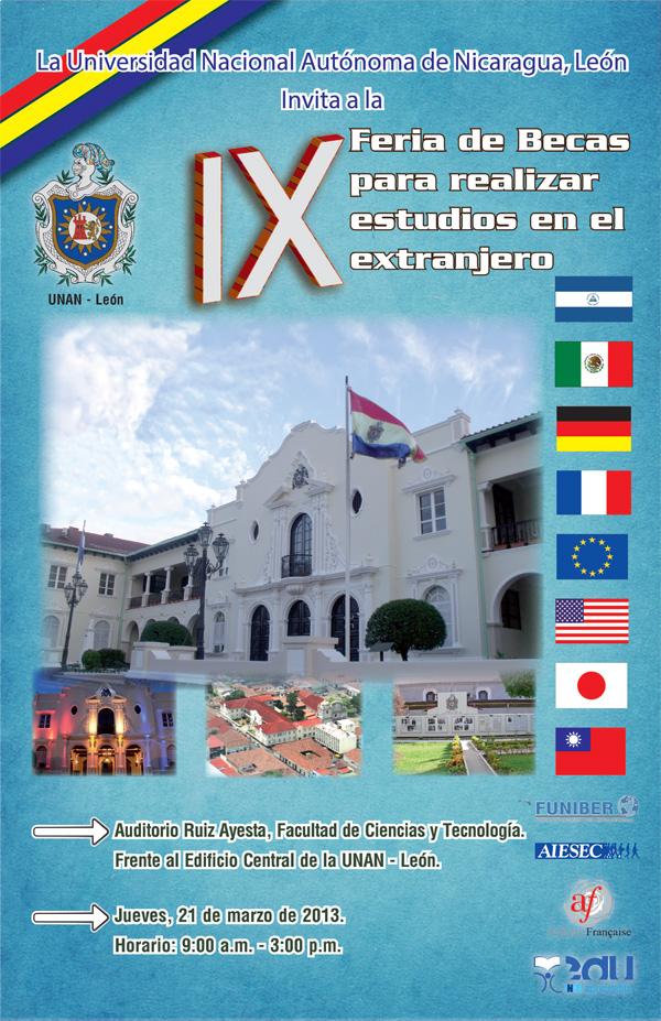 Fundación Universitaria FUNIBER Nicaragua participo en la IX Feria de Becas UNAM-León