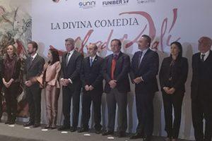 """Amplia representación institucional en la inauguración de la exposición """"La Divina Comedia"""" de Salvador Dalí"""