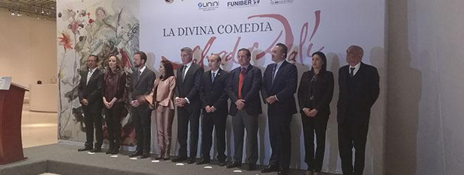 """""""La Divina Comedia"""" de Salvador Dalí se podrá ver en el Museo Internacional del Barroco (MIB), situado en Puebla de Zaragoza (México), hasta el 15 de enero de 2018."""