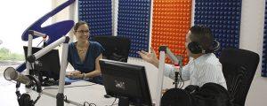 Entrevista a Ivonne Guzmán de FUNIBER Nicaragua en Radio Sandino