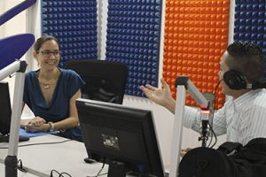 Entrevista a Ivonne Guzmán en Radio Sandino