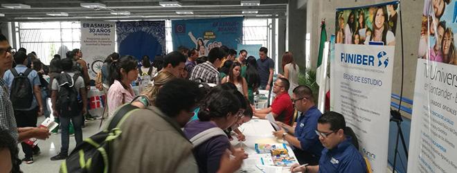 FUNIBER Honduras ha estado presente en la III Expo Becas Internacionales UNAH 2017