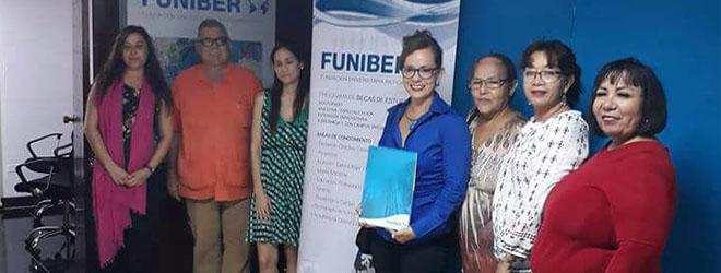 FUNIBER firma convenio de colaboración con el Colegio de Abogados y Notarios de Nicaragua en Formación