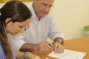 FUNIBER Nicaragua firma un convenio de colaboración con el Colegio San Agustín