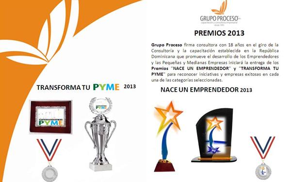 FUNIBER República Dominicana patrocina premiaciones Transforma tu PYME y Nace un Emprendedor.