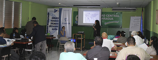 FUNIBER organiza sesión informativa sobre becas para el Colegio de Abogados y Notarios de Nicaragua en Formación