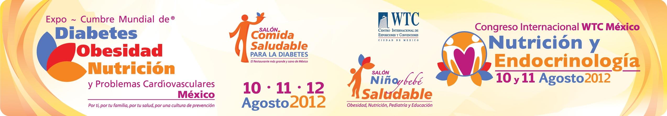 FUNIBER-México, presente en la Expo-Cumbre Mundial de Diabetes, Obesidad, Nutrición y Problemas Cardiovasculares 2012.