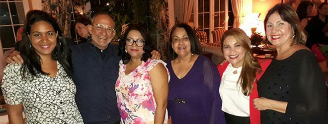 FUNIBER invitada a recepción en la embajada española en República Dominicana