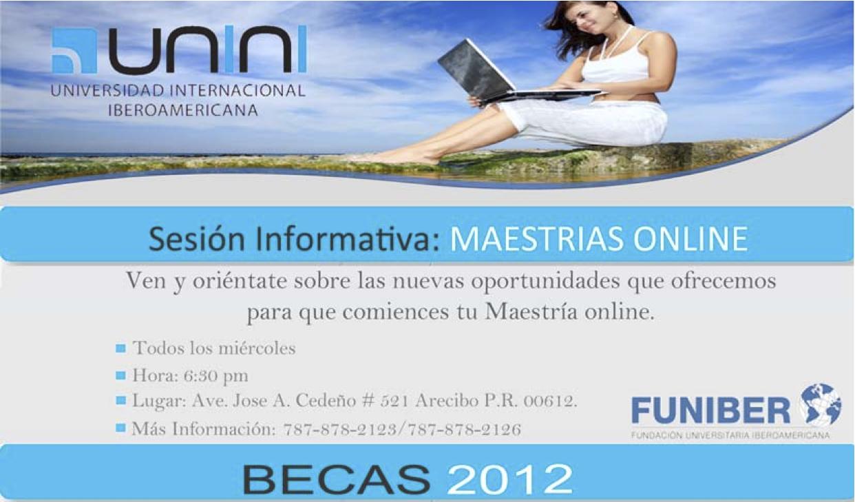 Sesión Informativa: Maestrías Online