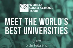FUNIBER, presenta sus becas en la QS World Grad Tour de Quito (Ecuador)