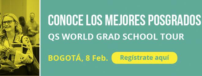 La QS World Grad Tour llega a Bogotá para presentar programas de posgrado con presencia de FUNIBER