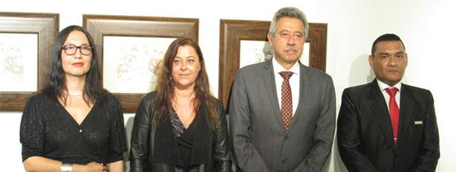 """Inauguración de la exposición """"Dalí frente a Miró: Pinceladas de música y sueños de papel"""" en Lima (Perú)"""