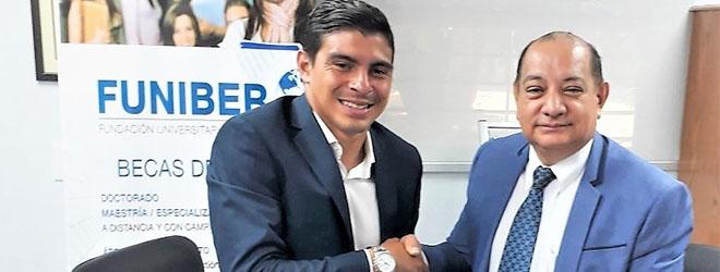 FUNIBER firma convenio con AFUTPA
