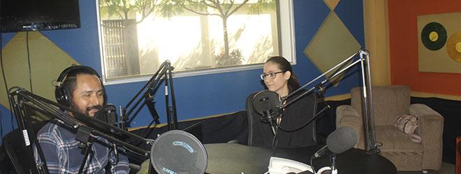 La directora de FUNIBER Nicaragua, entrevistada en Radio Universidad
