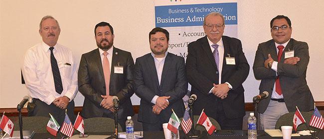 Profesor de UNINI México toma parte en panel de expertos sobre el TLCAN