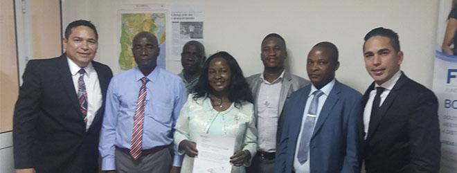 Alumnos de doctorado defienden su tesis presencialmente en Mozambique