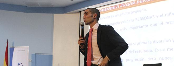 FUNIBER organiza seminario de Antonio Bores sobre Fútbol Sala