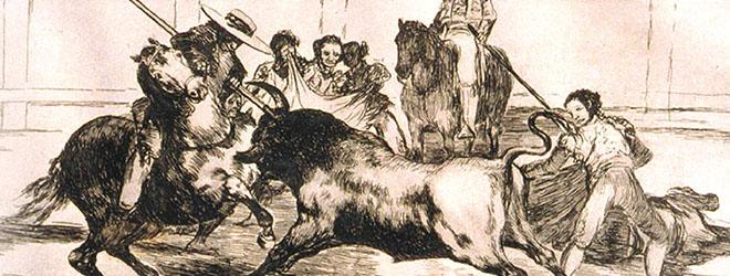 """La exposición """"Tauromaquia"""", de Goya, aterriza en Tegucigalpa (Honduras)"""