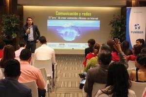 ÉXITO DE ASISTENCIA EN CONFERENCIA COMUNICACIÓN Y REDES SOCIALES: EL ARTE DE CREAR CONTENIDOS EFICACES EN INTERNET EN REPÚBLICA DOMINICANA.
