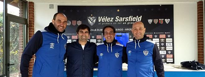 El Dr. Casamichana visita las instalaciones de Vélez Sarsfield