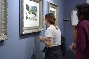 Exposición de Picasso inaugurada en la UFT de Chile
