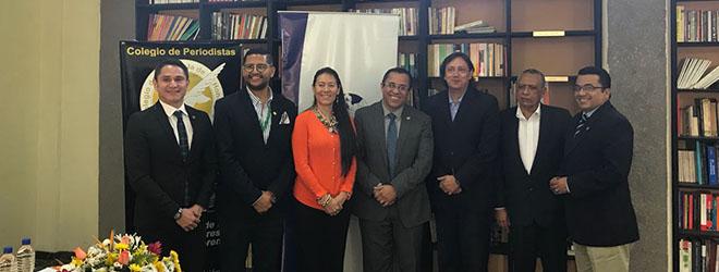 FUNIBER y el Colegio de Periodistas de Honduras firman convenio de colaboración