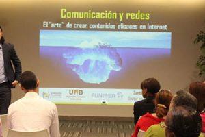 La conferencia sobre comunicación en redes sociales se salda con un rotundo éxito de asistencia