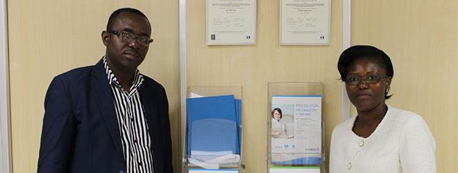 Representantes de la Universidad de Maroua (Camerún) visitan FUNIBER España