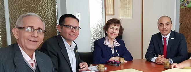 El Dr. Luis Alonso Dzul, rector de UNINI México, invitado en el CIDIAT como profesor internacional