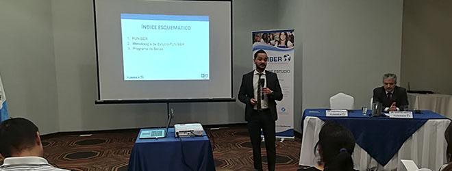 Éxito de asistencia a la sesión informativa sobre el Programa de Becas de FUNIBER en Guatemala