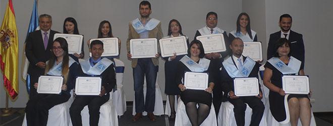 FUNIBER celebra su sexta ceremonia de entrega de títulos universitarios en Guatemala