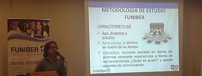 FUNIBER presenta su programa de Becas en el Colegio de Ciencias Económicas