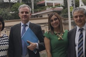 FUNIBER se reúne con la Embajada de España en Honduras